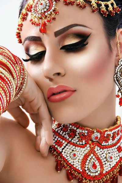 Asian Bridal Makeup - How To Be The Perfect Asian Bride - She