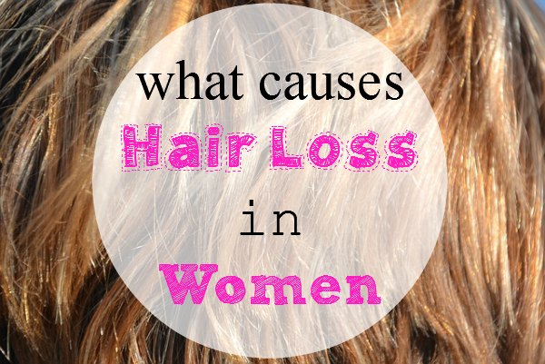 what causes hair loss in women 1