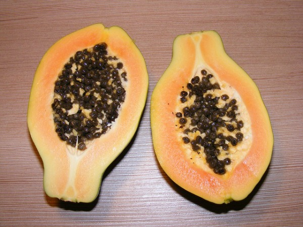 Fruits for glowing skin Papaya