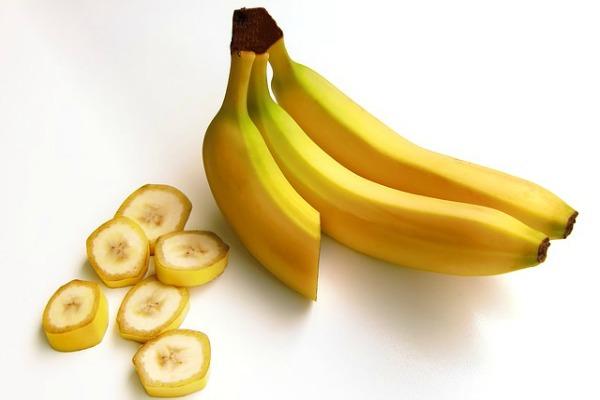 Fruits for glowing skin banana