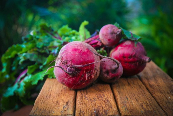 Fruits for glowing skin beetroot