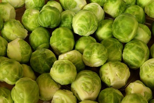 Best Food For hair Vitamin E Vitamin K brussels-sprouts